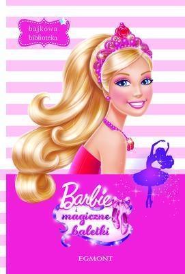 Bajkowa biblioteka Barbie i magiczne baletki  (00855)