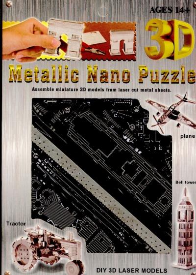 Nano 3D puzzle - parowiec .