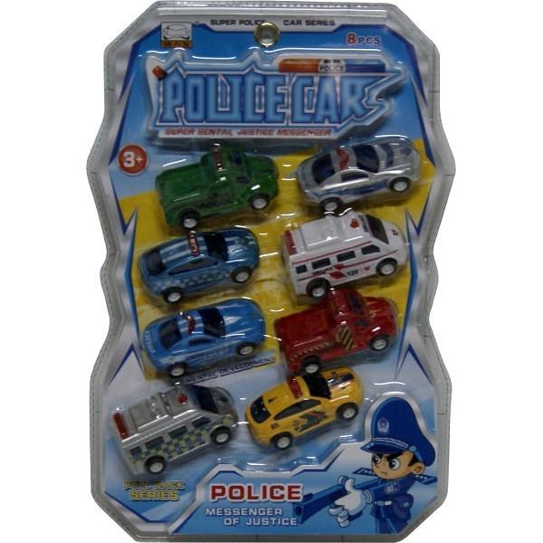 Samochody na blistrze, 8 sztuk (1074685)