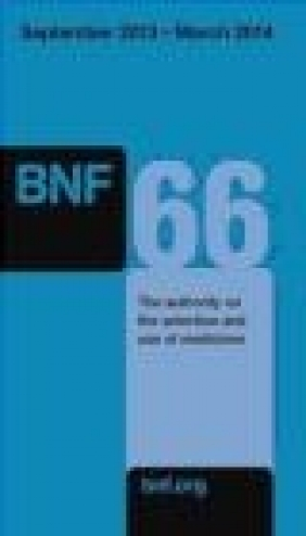British National Formulary (BNF) v. 66 Joint Formulary Committee