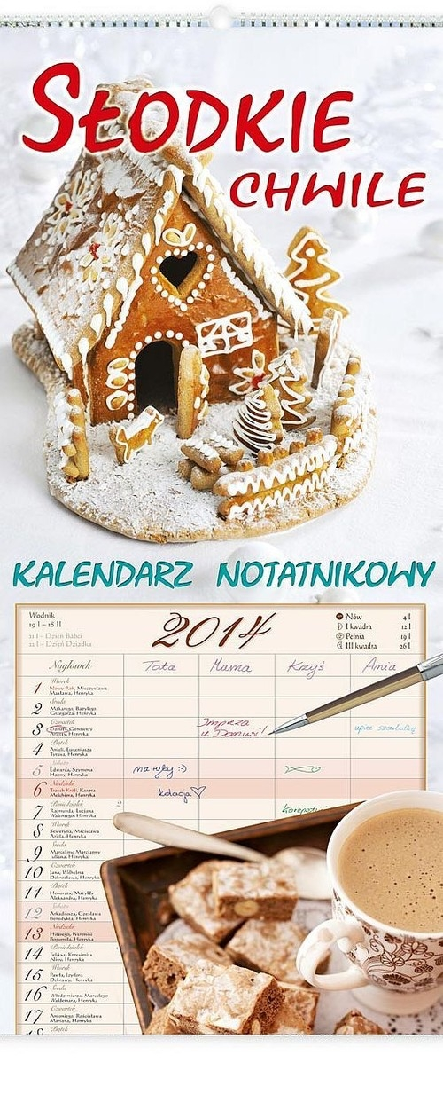 Kalendarz 2014 Słodkie chwile