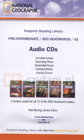 Footrpint Reading Library 800 CD-Audio Waring, Rob (Series Ed)