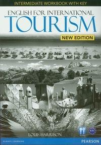 English for International Tourism Intermediate Workbook with key z płytą CD Harrison Louis