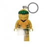 Brelok z latarką LEGO®: Ninjago - Gold Ninja (LGL-KE153)