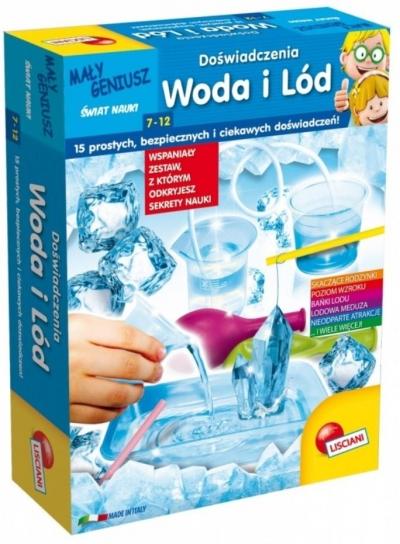 Mały Geniusz, Doświadczenia z wodą i lodem (304-P54855)