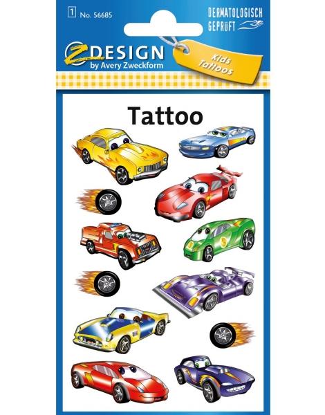 Tatuaże dla dzieci - samochody (56685)