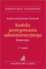 Kodeks postępowania administracyjnego w17 Komentarz