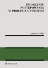 Umorzenie postępowania w procesie cywilnym Gołąb Agnieszka