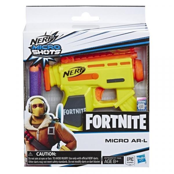 Pistolet Nerf Microshots Fortnite AR L (E6741/E6750)