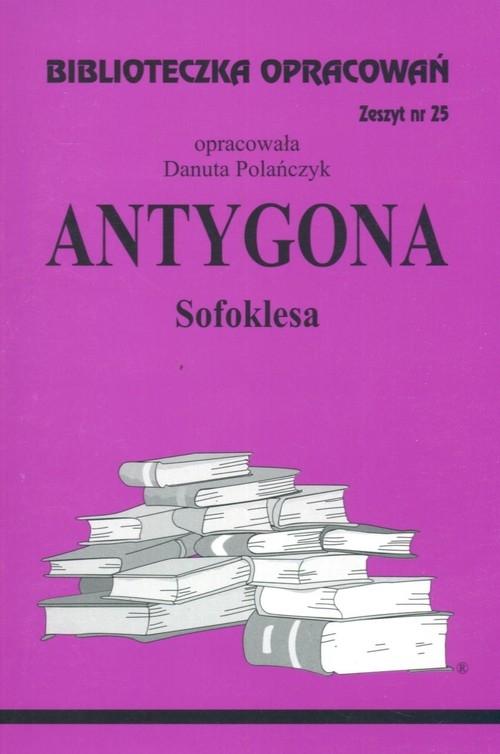Biblioteczka Opracowań Antygona Sofoklesa