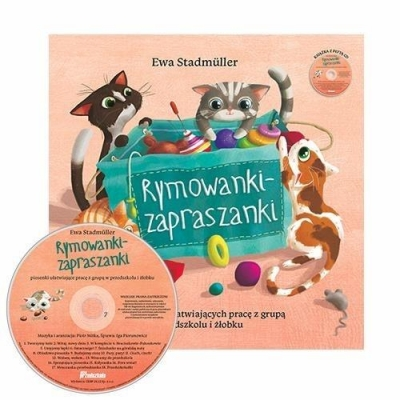 Rymowanki - zapraszanki + CD w.II Ewa Stadmuller