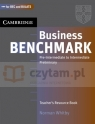 Business Benchmark PreInt-Int TRes Book Norman Whitby