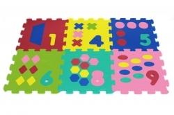 Puzzle piankowe Cyfry (X-ART-1022B-10)