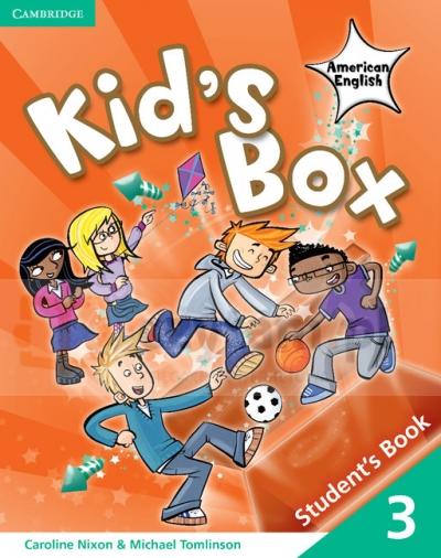 Kid's Box American English 3 SB Caroline Nixon, Michael Tomlinson