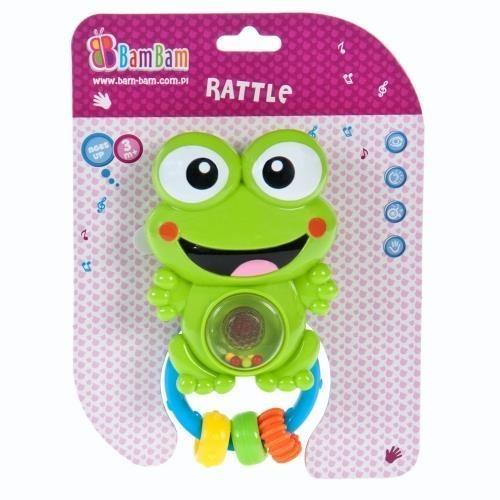 Grzechotka muzyczna żaba BAM BAM
