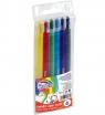 Kredki wykręcane Fiorello Color Twist, 6 kolorów (282310)