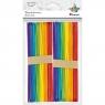 Dekoracja drewniana patyczki kolorowe (361538)