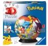 Puzzle 72 elementy 3D Kula, Pokemon (11785)