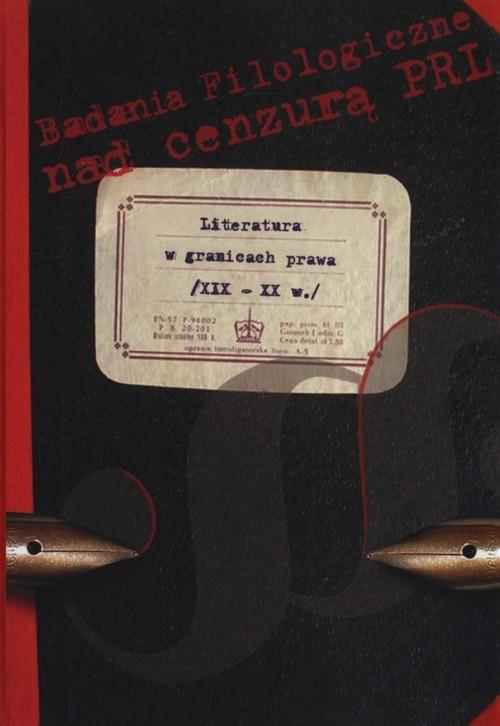Literatura w granicach prawa XIX - XX w.