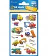 Naklejki dla dzieci - Na budowie (53209)