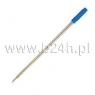 Wkład do długopisu Titanum typu cross niebieski op.100szt