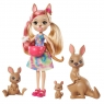 Enchantimals: Rodzina - Kamilla Kangaroo + kangurki (GJX43/GTM31)
