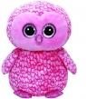 Maskotka Beanie Boos Pinky - różowa sowa 42 cm (36608)
