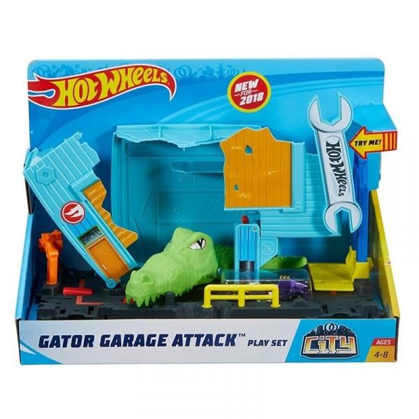 Hot Wheels City: Aligator w warsztacie (FNB05/FNB06)