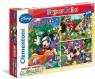 Puzzle 3x48 Klub Przyjaciół Myszki Mickey (25185)