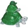 Crystal puzzle Żółwie