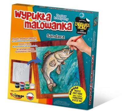 Wypukła Malowanka - Ryba Sandacz