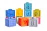 Klocki dla maluchów - gumowe (111858)Wiek: 0+