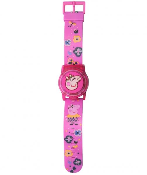Zegarek cyfrowy ze świecącą pokrywą ochronną - Świnka Peppa (PP17019)