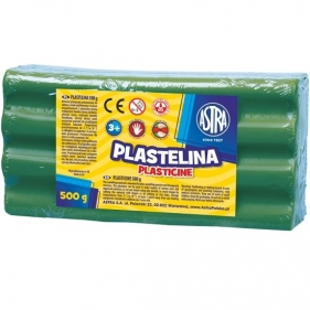 Plastelina Astra 500 g zielona (303117009)