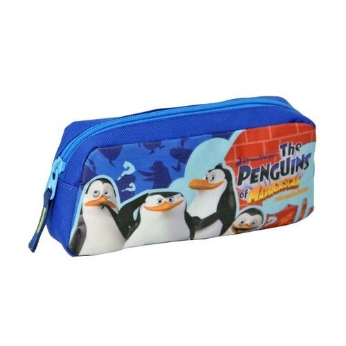 Piórnik szkolny Pingwiny z Madagaskaru