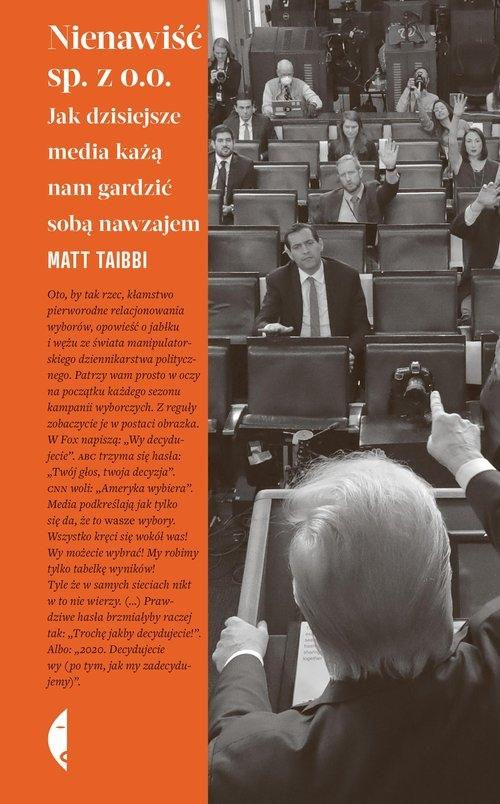 Nienawiść sp. z o.o. Taibbi Matt