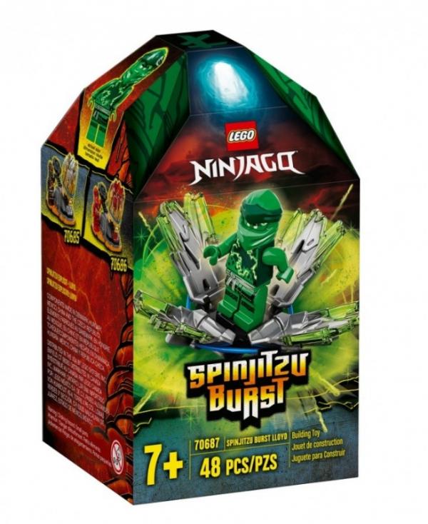 Klocki Ninjago Wybuch Spinjitsu Lloyd (70687)
