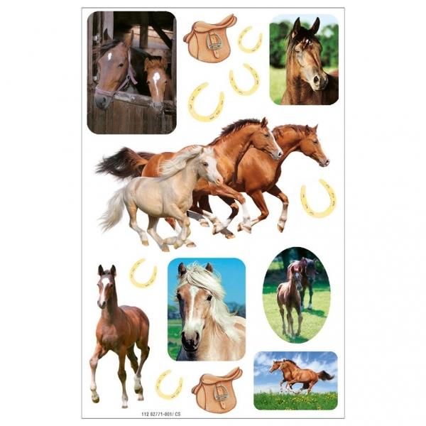 Naklejki A ozdobne Konie/Podkowy