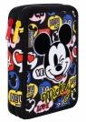 Coolpack - Jumper XL - Disney - Piórnik podwójny z wyposażeniem - Mickey