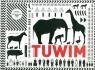 Wiersze dla dzieci - Tuwim (czarno-biała)