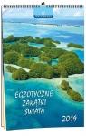 Kalendarz 2019 13 Planszowy Egzotyczne Zakątki