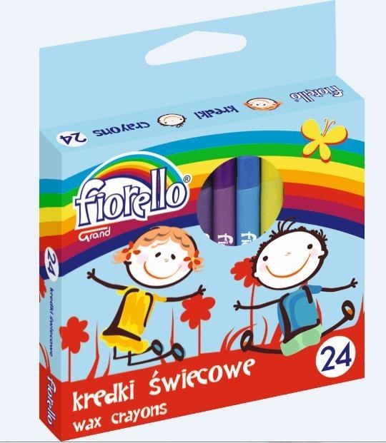 Kredki świecowe Fiorello 32 kolory  (341747)