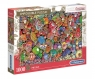 Puzzle Impossible Puzzle! 1000: Jolly Christmas (39585)