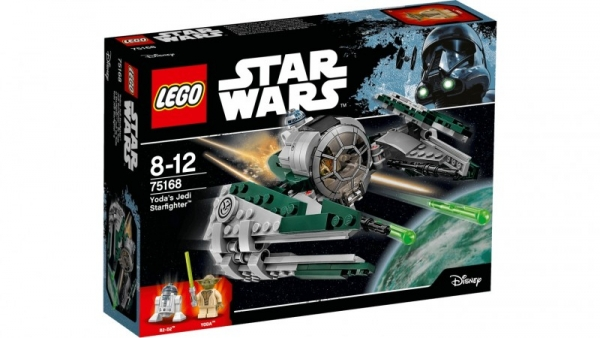 Lego Star Wars: Jedi Starfighter Yody (75168)