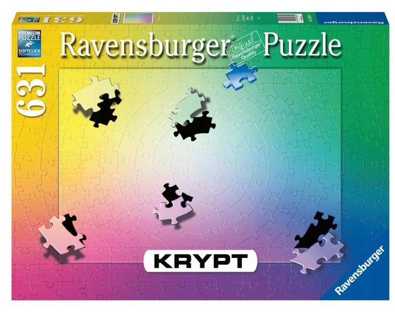 Ravensburger, Puzzle Krypt 631: Gradient (168859)