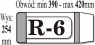 Okładka regulowana R-6