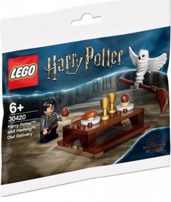 Klocki Harry Potter Harry i Hedwiga przesyłka (30420)