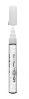 Marker akrylowy - biały TO-40072