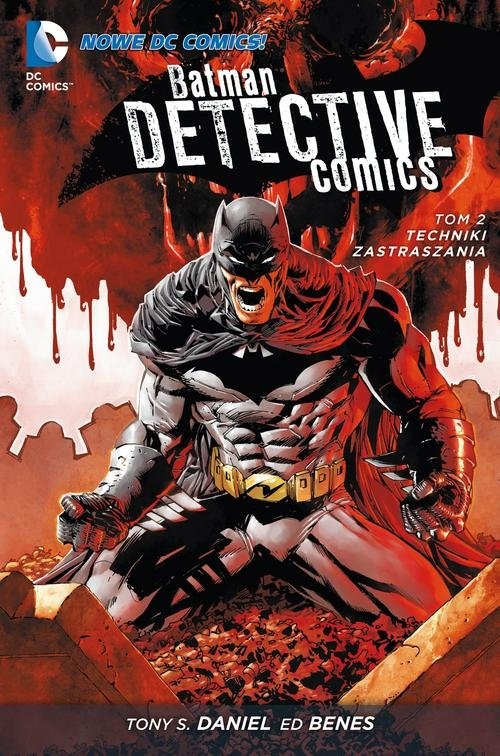 Batman Detective Comics Tom 2 Techniki zastraszania