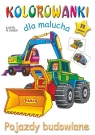 Kolorowanki dla malucha Pojazdy budowlane